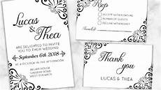 diy make your wedding invitations rsvp thank you cards