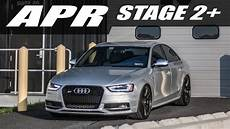 b8 5 audi s4 apr stage 2 dual pulley youtube