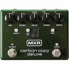 carbon copy analog delay mxr carbon copy deluxe analog delay pedal musician s friend