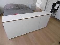 bout de lit avec tv escamotable kiosque am 233 nagement