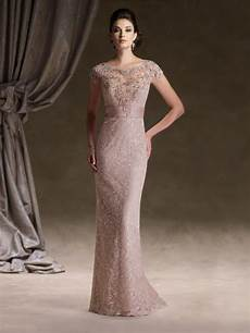elegant illusion coral lace mother of the bride dress trubridal com