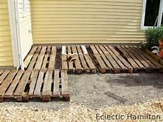 diy mit paletten terrasse selbst gebaut terrasse selber