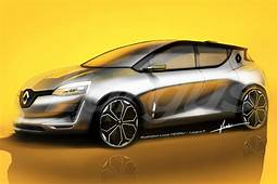 2019 Renault Clio Front Three Quarters Rendering