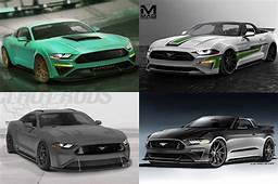 Ford Bringing Seven 2018 Mustang Show Cars To SEMA  Motor