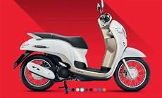 Modifikasi Scoopy 2018 Jari Jari by Honda Scoopy 2017 Thailand Putih Jari Jari Warungasep