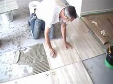 Install Tile Floor Bathroom