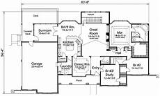 atrium ranch house plans atrium ranch home plan with sunroom 57155ha