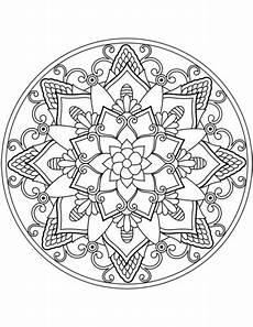 Malvorlage Blumen Mandala Malvorlagen F 252 R Blumenmandala Ausmalbild Blumen Mandala