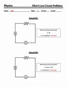 ohm s worksheet calculations by mercury manufacturing tpt
