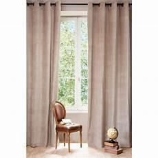 1000 images about rideau on rideau 224 œillets en velours et beige 140 x