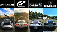 forza 7 vs gran turismo sport vs project cars 2 vs