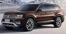 New Volkswagen Teramont Is China S Atlas Suv