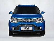 India Spec Maruti Ignis Concept Teased Rendered  Driving