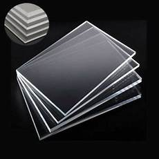 1 2 4x clear acrylic sheet laser cut plastic plate glass thick 2 4 5 6 8 10mm ebay
