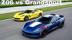 chevy corvette c7 grandsport vs chevy corvette c7 z06