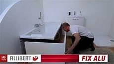 fix alu le tablier de baignoire qui s installe en un clin