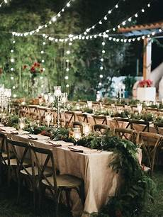 outdoor wedding table 7 ways to get creative with string lights