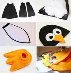 pinguin kostüm selber machen zu wenig bewegungsfreiheit aber gutes muster n 228 hideen