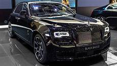 rolls royce ghost black badge edition geneva motor show