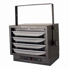 electric garage dyna glo 5000 watt electric garage heater with thermostat