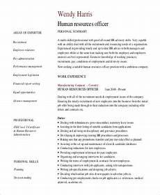 free 8 sle professional summary resume templates in pdf