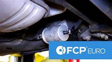 audi vw fuel filter replacement easy access service b5
