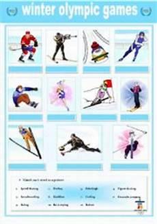 winter olympics esl worksheets 19995 winter olympics matching esl worksheet by stefemma
