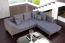 Canap 233 D Angle Design Palma Cuir Pu Et Tissu Design