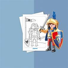 Ausmalbild Playmobil Novelmore Malblatt Playmobil Knights 3
