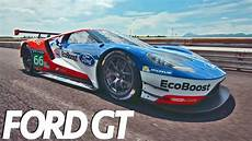 cing car 2017 2017 ford gt race car driving