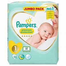 morrisons pers new baby size 1 jumbo pack 72 per pack