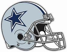 Dallas Cowboys NFL Football Helmet Car Bumper Locker