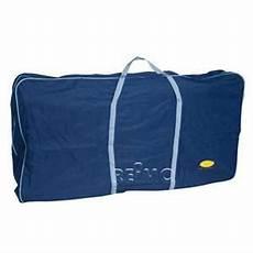fred sac bleu pour chaise longue de cing 116x60x20cm