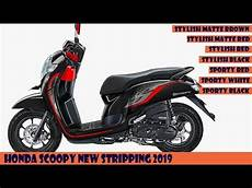 Modifikasi Scoopy 2019 by Honda Scoopy New Striping 2019