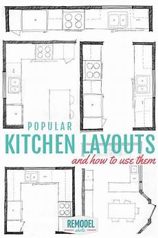 Popular Kitchen Layouts And How To Use Them popular kitchen layouts and how to use them