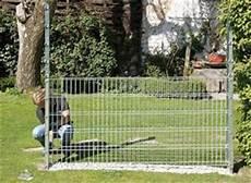 anleitung zaun oder sichtschutz mit gabionen bauen diy info