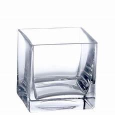 4 quot clear glass square vase walmart