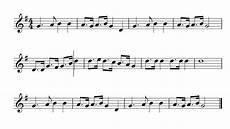 alouette violin sheet music youtube