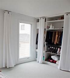 Begehbarer Kleiderschrank Mit Vorhang - begehbarer kleiderschrank wohnideen einrichten