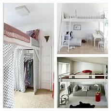 pour petit espace lit mezzanine adulte et am 233 nagement de petits espaces