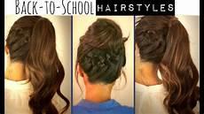Hairstyles For Medium Hair For School