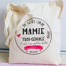 cadeau anniversaire mamie a fabriquer 89456 sac cadeau personnalis 233 pour une mamie trop g 233 niale