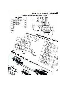 1949 Willys Jeepster Parts Ebay