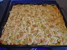Rhabarberkuchen Mit Pudding Und Streusel - rhabarberkuchen mit streuseln katzi68 chefkoch de