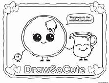 DRAW SO CUTE Coloring Pages Free Printable  Drawings Art