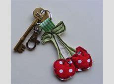 handmade fabric key rings by katy kirkham designs