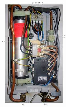 Durchlauferhitzer Ohne Starkstrom - file elektronischer durchlauferhitzer 21kw jpg wikimedia