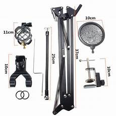 9pcs Foldable Professional Recording Microphone Stand by Tv Boxes Digital Media Players 9pcs Foldable