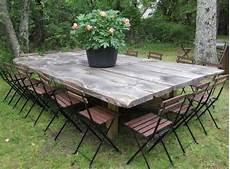 Table Bois Exterieur Table Jardin Maisonjoffrois