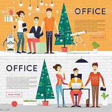 merry christmas office images merry christmas and happy new year office businesspeople office party stock vector art more